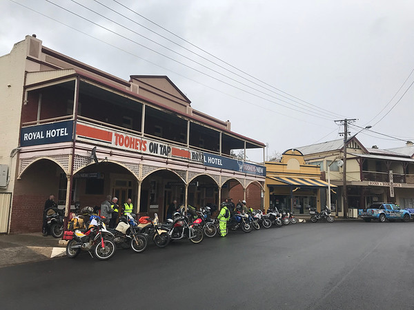 Royal Hotel Scrapheap Motorcycle Ride