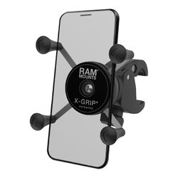 RAM Mounts X-Grip® Phone Mount with Low-Profile RAM® Tough-Claw™