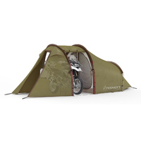 Redverz Atacama Expedition Motorcycle Tent Green