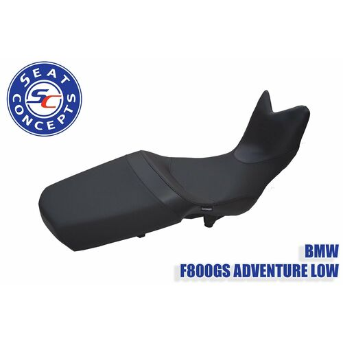 Seat Concepts BMW 800GS Adventure (2014-Current) LOW Comfort Seat Foam & Cover Kit