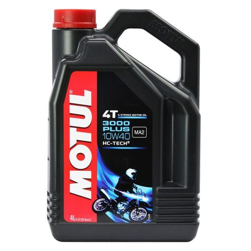 Motul 3000 Plus 10W40 4T 4L Engine Oil