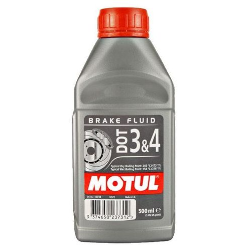 Motul Brake Fluid Dot 3 & 4 500ml
