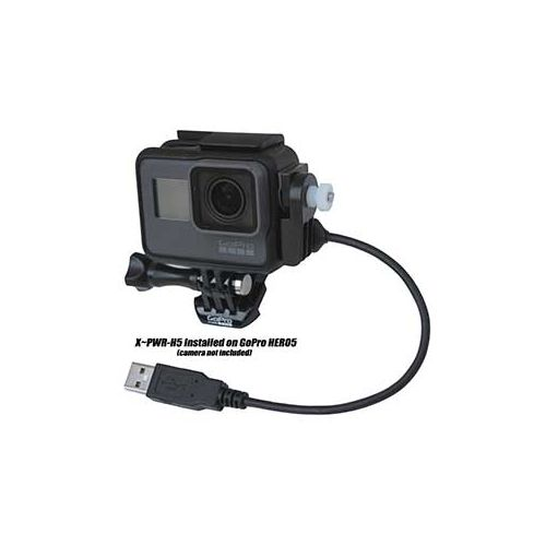 3BR Powersports 3BR X-PWR All-weather External Power Kit for GoPro Hero 5 & Hero 6 Cameras