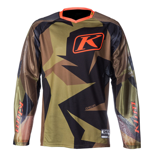 Klim Dakar Jersey Non-Current [Colour: Green] [Size: XLarge]