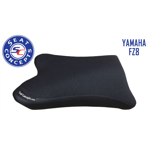 Seat Concepts Yamaha FZ8 Standard Foam & Cover Kit [Cover Options: All Carbon Fiber] [Seat Options: Foam & Cover Kit ONLY]