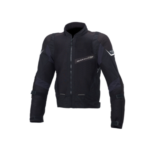 Macna Sunrise Mesh Jacket [Colour: Black] [Size: Large]