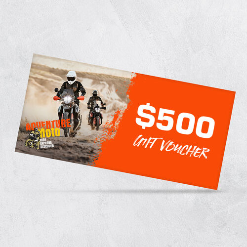 $500 Adventuremoto Gift Voucher