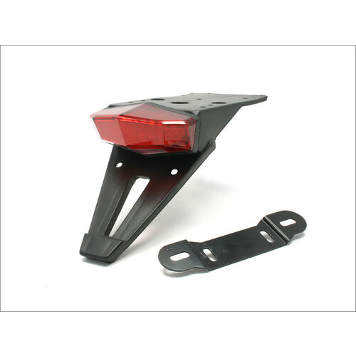 DRC Universal Edge-2 Tail Light and Number Plate Holder Kit