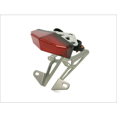 DRC Edge-2 Tail Light and Number Plate Holder Kit for Yamaha WR250R/ WR250X [Colour: Red]