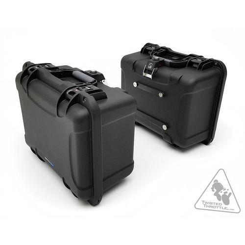 DrySpec H35 A-Lock Waterproof 35L Side Case Set Black 70 Litres Total