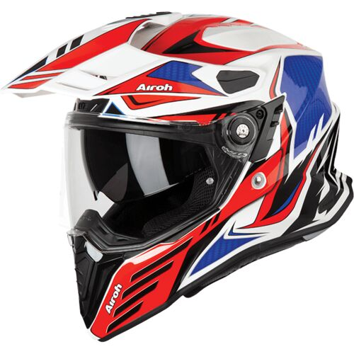 Airoh Commander Carbon Red Gloss Helmet