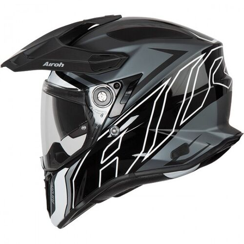 Airoh Commander Duo Gloss/Matte Black Helmet
