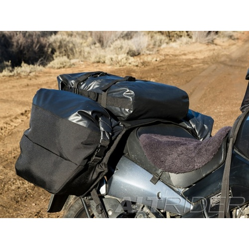 AltRider Hemisphere Soft Panniers Centre Exhaust [Colour: Black]