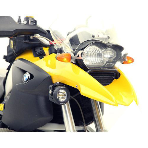 Denali Auxiliary Light Mounting Bracket for BMW R1200GS (2004-2012) & R1200GS Adventure (2005-2013)