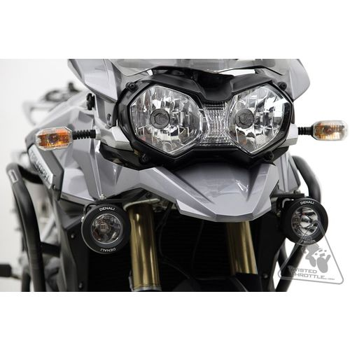 Denali Auxiliary Light Mounting Bracket For Triumph Tiger Explorer 1200/ Tiger Explorer 1200 XC (2012-2015)