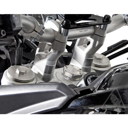 SW Motech Handlebar Risers 20mm for Triumph Tiger 800/800XC & Tiger 1200 Explorer