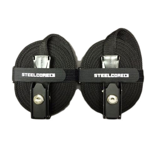 Steelcore Bike Security Load Strap 9FT (2.74m) Pair