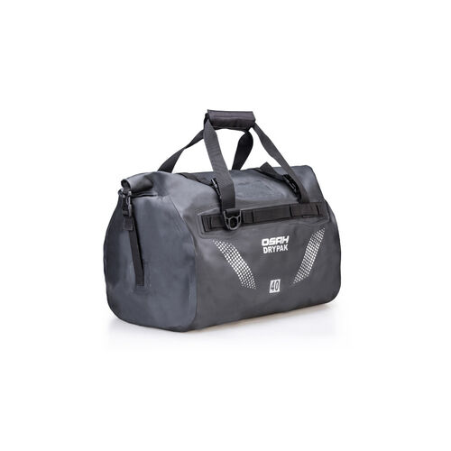 OSAH 40L CARGO DUFFEL BAG BLACK with Molle webbing