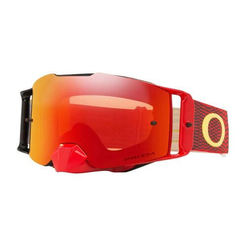 OAKLEY FRONT LINE MX EQUALIZER RED/YELLOW W/PRIZM MX TORCH