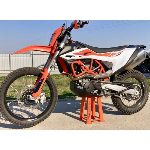 Outback Motortek KTM 690 Adventure Skid Plate [Colour: Black]