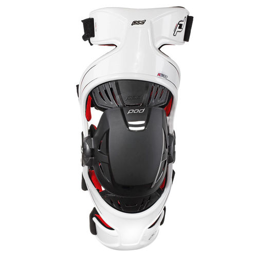 POD K300 White/Red Knee Brace RIGHT