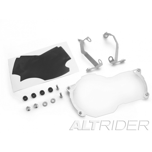 AltRider Lexan Headlight Guard for BMW R1200GS Water Cooled [Colour: Silver]