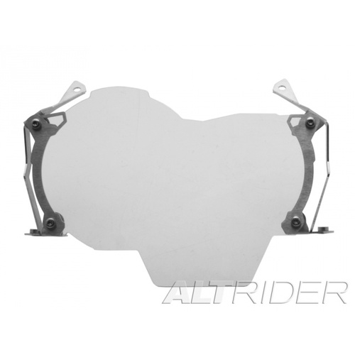 AltRider Clear Headlight Guard Extended Kit for BMW R1200GS Water Cooled [Colour: Silver]