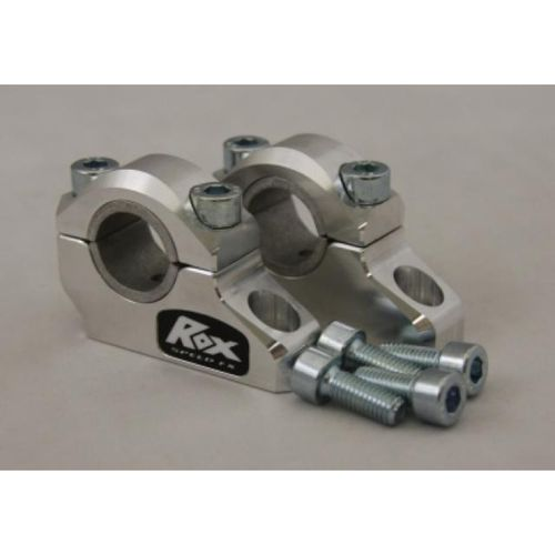 ROX Pro-Offset Elite Block Riser 1 1/4 Inch Rise or 1 Inch Back for 7/8 Inch or 1 1/8 Inch Handlebars