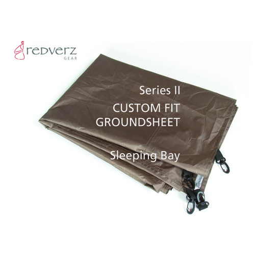 Redverz Series II Expedition Tent Groundsheet Sleeping