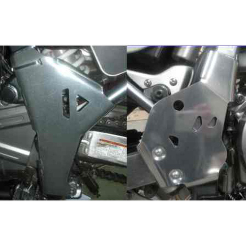 B&B Off Road Suzuki DR650 Frame Guards [Colour: Silver]