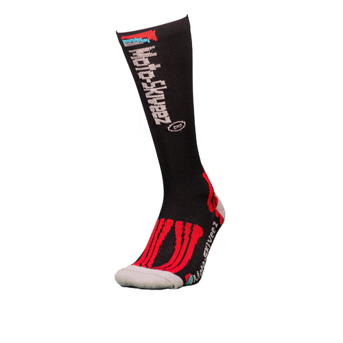Moto-Skiveez Compression Riding Sock With Aloe