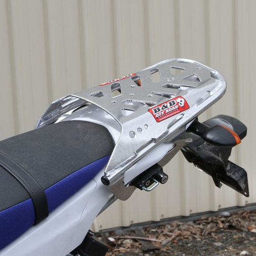 B&B Off Road Yamaha WR250R (2008-current) Rear Carry Rack [Colour: Silver]
