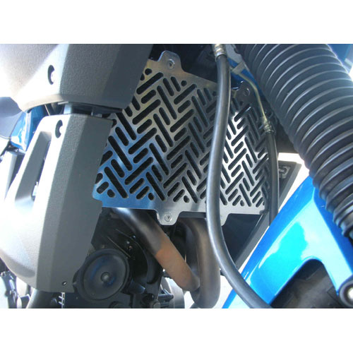 B&B Off Road Yamaha XT660Z Tenere Radiator Stone Guard [Colour: Silver]