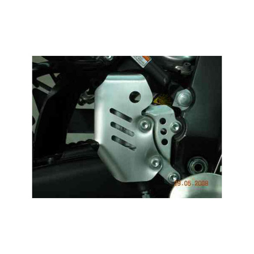B&B Off Road Yamaha WR250R/ WR450F/ WR250F/ YZ250F/ YZ450F Multifit Master Cylinder Guard [Colour: Silver]